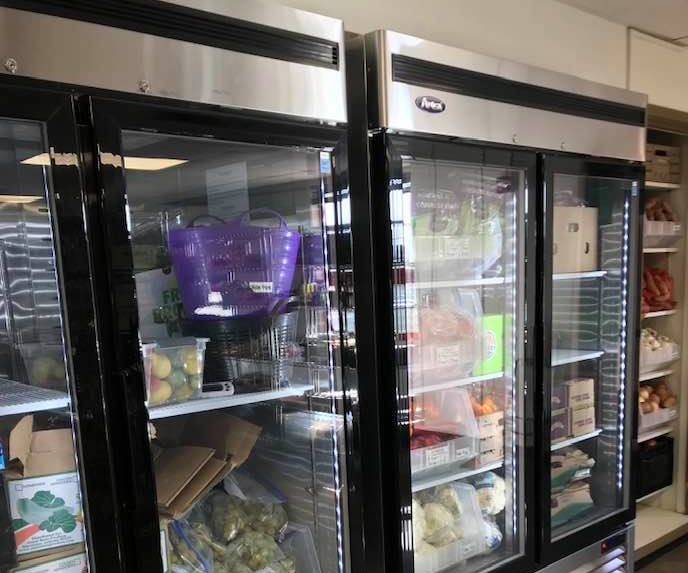 Cold Food Storage at FUUD Pantry Lenexa